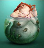 My Home Mermaid by Sasha Gorec, DeviantArt, http://fav.me/d3hc591