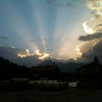 Evening in Maria Alm