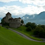 The castle of the Prince of Liechtenstein