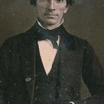 "An 1840s daguerrotype of Oliver Cowdery. Found in 2006, it is the earliest known image of the ""Second Elder"" of the Church."