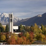 Brigham Young University, a view toward the north
