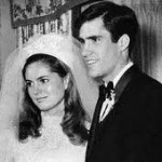 Mitt and Ann Romney Wedding Photo