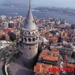Galata Tower, looking toward the ancient city across the Golden Horn