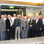 Participants in Sunday night's meeting of the Academy for Temple Studies in Logan, Utah