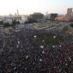 Anti-Morsi demonstrators in Tahrir Square