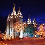 Christmas on Temple Square, Salt Lake City, Utah