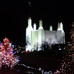 Christmas 2011 at the Washington DC Temple of the Church of Jesus Christ of Latter-day