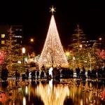 Christmas at Temple Square in Salt Lake City, Utah