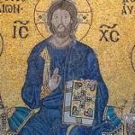 "Mosaic from the Chora Church (""Kariye Cami"") in Istanbul"