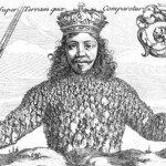 """The cover of """"Leviathan,"""" by Thomas Hobbes (1651)"""