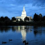 The Idaho Falls Temple of the Church of Jesus Christ of Latter-day Saints