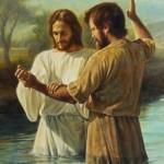 John the Baptist and Christ