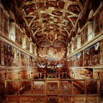 The Sistine Chapel in Vatican City, where papal conclaves are held
