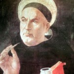 St. Thomas Aquinas as he may -- or, just as probably, may not -- have looked.
