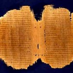 Chester Beatty Papyrus 45 This portion contains the gospel of Luke.