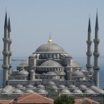 The Sultanahmet or Blue Mosque in Istanbul, one of the most glorious cities in the world