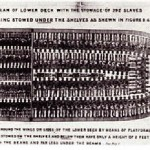 The plan of a slave ship