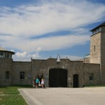 The main entrance to KZ-Mauthausen, a Nazi labor and extermination camp in Austria that was liberated by American soldiers (among them my father) in May 1945