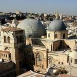 "The Church of the Holy Sepulcher in Jerusalem (aka, in Arabic, al-Qiyama, ""The Resurrection"")"