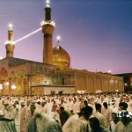 The Mosque of Imam Husayn in Karbala, Iraq (click to enlarge)