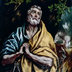 "El Greco's late sixteenth-century portrayal of ""Saint Peter Weeping"""