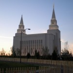 The Kansas City Missouri Temple of the Church of Jesus Christ of Latter-day Saints, actually situated not too far from the town of Liberty (click to enlarge)