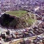 Ancient Gaziantep, surrounded by the modern city