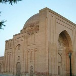 The possible (but not certain) tomb of al-Ghazali in Tus (Toos), within modern-day Iran (Click to enlarge.)