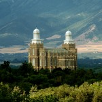 The Logan Utah Temple of The Church of Jesus Christ of Latter-day Saints (Click to enlarge)