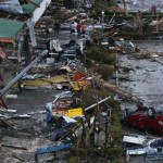 Tacloban, in the Philippines, in the wake of Typhoon Haiyan