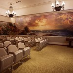 The Creation Room in the Nauvoo Illinois Temple (Click to enlarge.)
