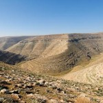 This lovely area, the Judaean wilderness, actually exists. I've been here, and through here, more times than I can count.