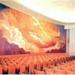 In the Creation Room of the Los Angeles California Temple of the Church of Jesus Christ of Latter-day Saints