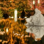 Nativity scene at Temple Square in Salt Lake City