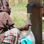 A result of the Church's fresh-water projects in Africa.  I suspect that the water wasn't shut off on Thanksgiving Day.