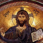 "Christ Pantocrator (""All-Powerful"") Cathedral of Monreale, Palermo, Sicily"