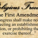 The First Amendment to the Constitution of the United States