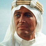 Peter O'Toole as T. E. Lawrence