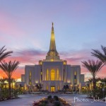 The soon-to-be-dedicated Gilbert Arizona Temple of The Church of Jesus Christ of Latter-day Saints