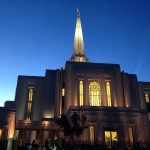 The Gilbert Arizona Temple will be dedicated on 2 March. (Photo by Nicholas Greene)