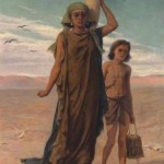Hagar and her son, Ishmael