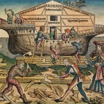 An image of Noah's ark from the Nuremberg Chronicle (Click to enlarge.)