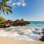 A scene along the coast of Maui (Click to enlarge.)