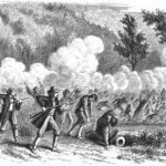 A not particularly accurate nineteenth-century depiction of the Mountain Meadows Massacre