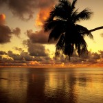 A tropical sunrise (Click to enlarge.  Click again to enlarge further.)
