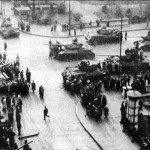 Russian tanks in the Crimea? No.  Russian tanks putting down the Hungarian Revolution of 1956. We've seen this movie before.