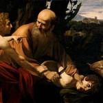 "Caravaggio, ""The Sacrifice of Isaac"""