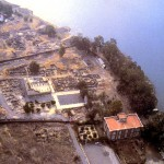 Aerial view of Capernaum (Click to enlarge)