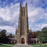 A scene at Duke University