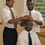 A priesthood ordination in Africa